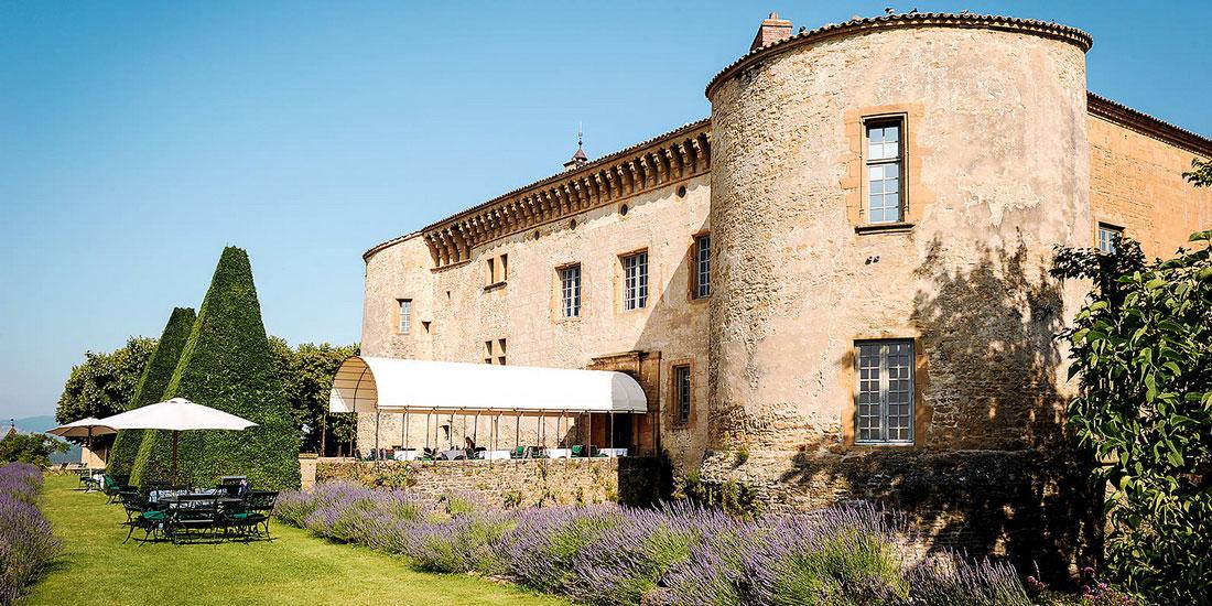 Château de Bagnols - Lieu partenaire de Vinextenso - Vin et évènements